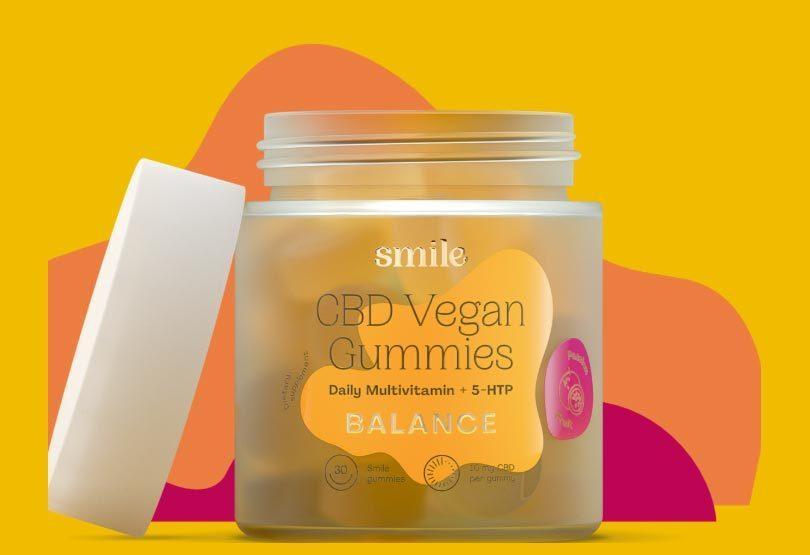 New Plant-Based Vegan CBD Multivitamin Gummies Launch by SMILE