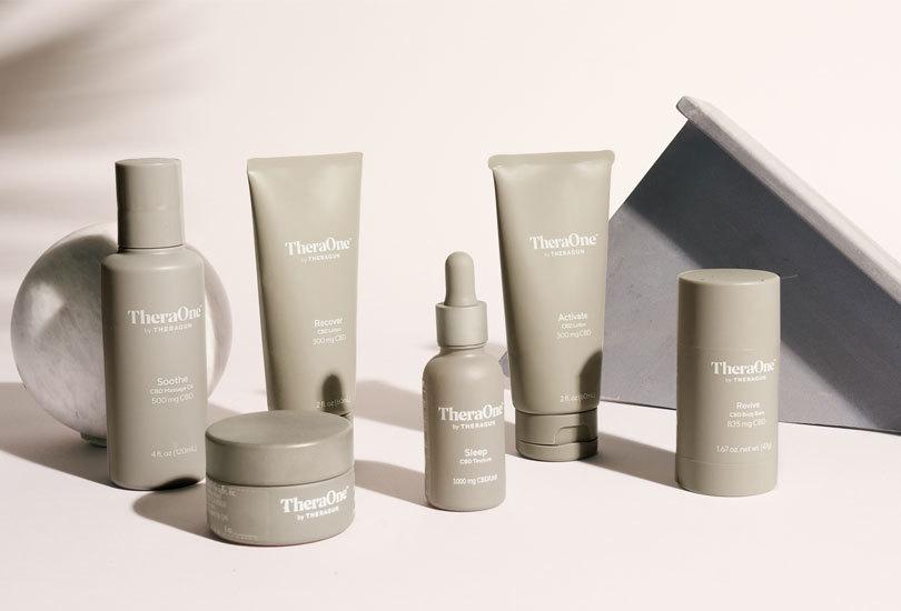 TheraOne CBD: Theragun Massage Therapy Gun Maker Launches CBD Products