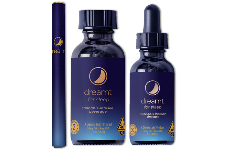 Dreamt Cannabis Sleep Brand Launches New 30-Night Tincture with CBD and THC Infusions