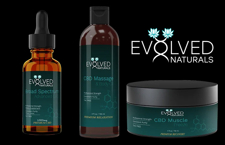 Evolved Naturals Shares Updated CBD Website to Purchase Hemp Products