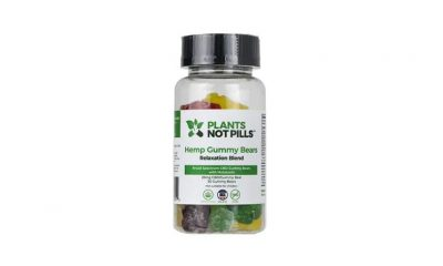 Plants Not Pills Hemp Gummy Bears: THC-Free CBD Edibles with Melatonin?