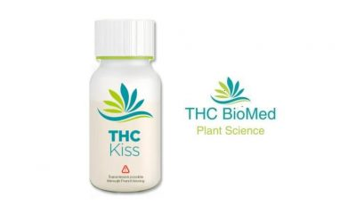 THC BioMed Earns Title of Canada's First Ever Cannabis Beverage Shot, THC KISS