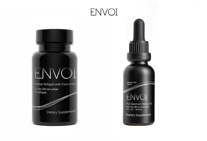 Lifocity Envoi CBD: Full Spectrum Hemp Oil, Softgels and Pain Cream Products