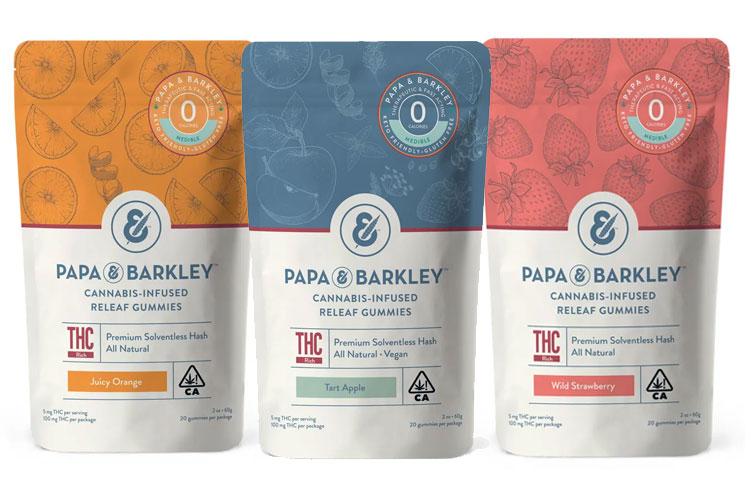 Californian CBD Company Papa & Barkley Debuts Hemp Gummy Edibles