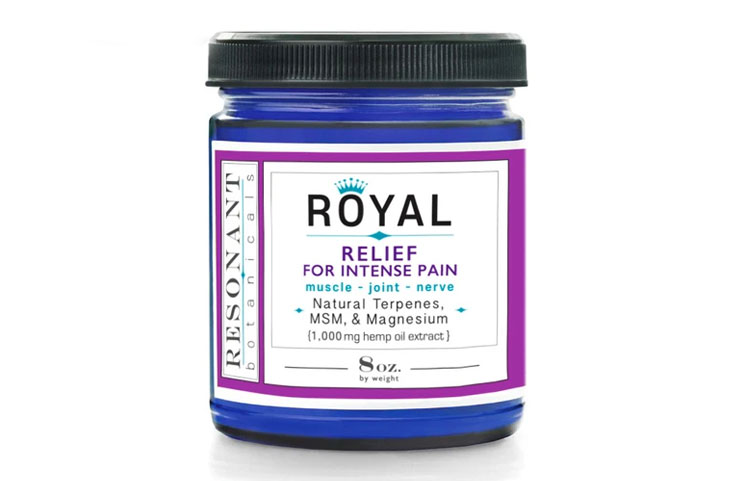 Resonant Botanicals Debuts Royal for Muscle, Joint and Nerve Pain Relief