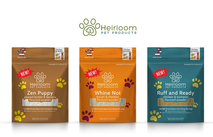 Heirloom Pet Products Debuts New Water-Soluble Hemp Pet Wellness Solution