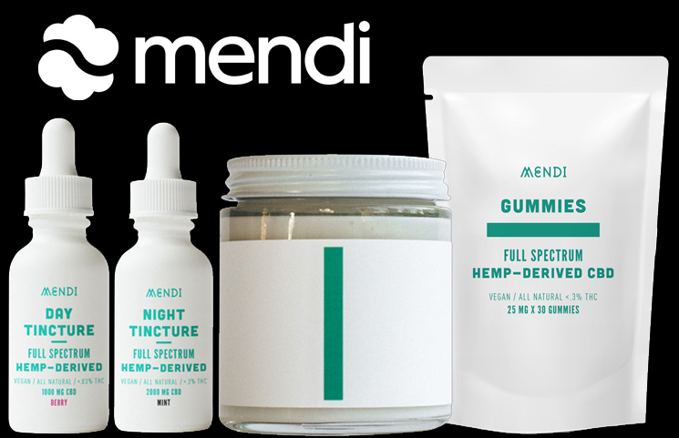 Mendi's New Athlete-Focused Full Spectrum CBD Products by Rachael Rapinoe Launches
