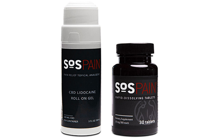 SoS Pain Gel: Full Spectrum Hemp CBD Roll-On Gel for Pain Relief