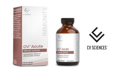 Top CBD Company CV Sciences Adds CV Acute Immune Support Supplement