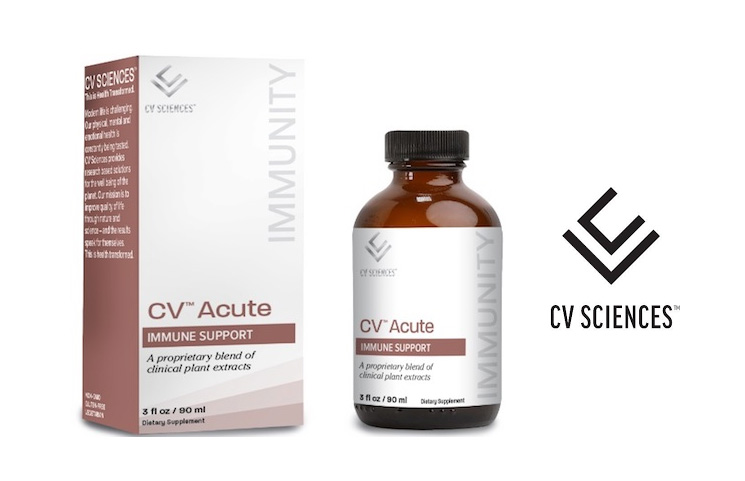 Top CBD Company CV Sciences Adds CV Acute Immune Support Supplement
