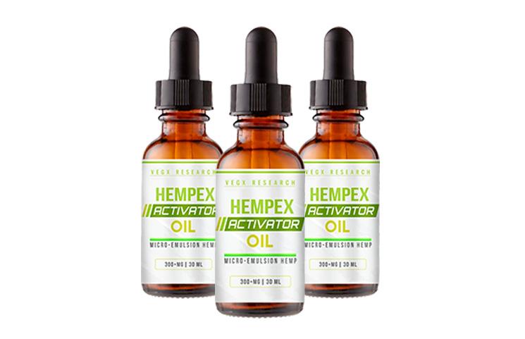 VegX HempEx Activator Oil