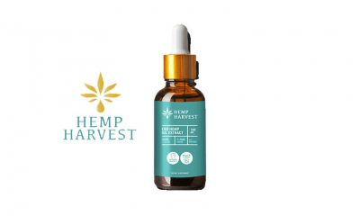Hemp Harvest CBD: Potent Natural CBD Oil Tincture Launches Online