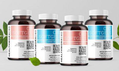 Healthworx CBD Debuts New Full and Broad Spectrum CBD Softgels