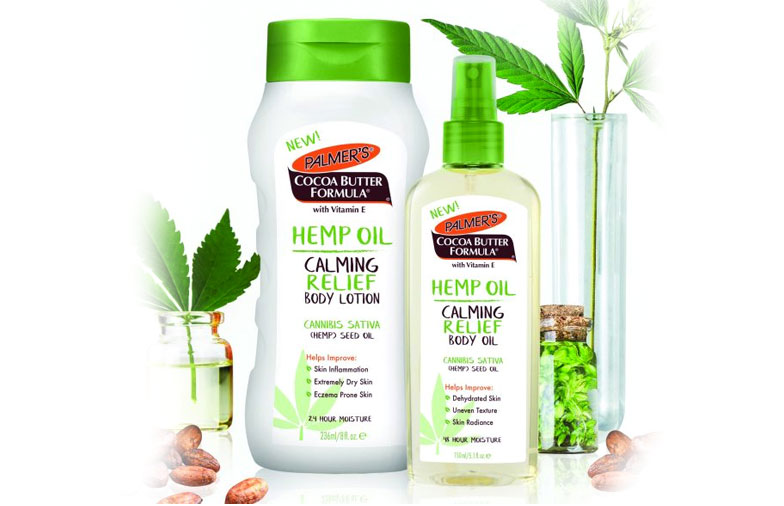 New E.T. Browne Brand Palmer's Hemp Oil Body Care Products Launch