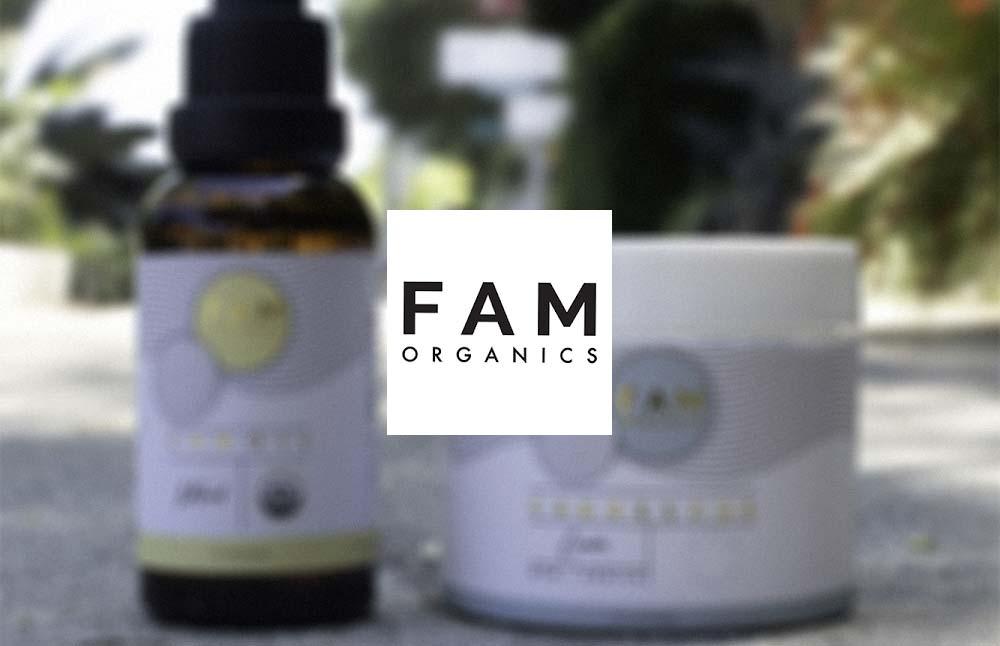 Fam Organics CBD: USDA Certified Organic CBD Oils and Topicals