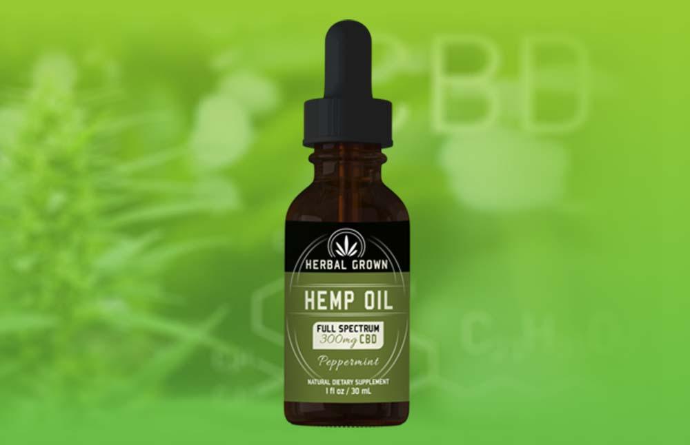 Herbal Grown CBD Oil: Safe Full Spectrum Hemp Oil Tincture?