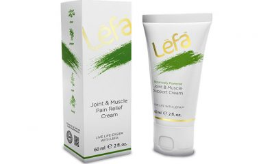Lēfa Joint and Muscle Pain Relief Cream: Botanical CBD Hemp Extract