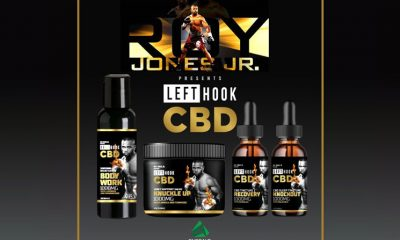 New Left Hook CBD Brand Launches by Boxing Legend Roy Jones Jr.