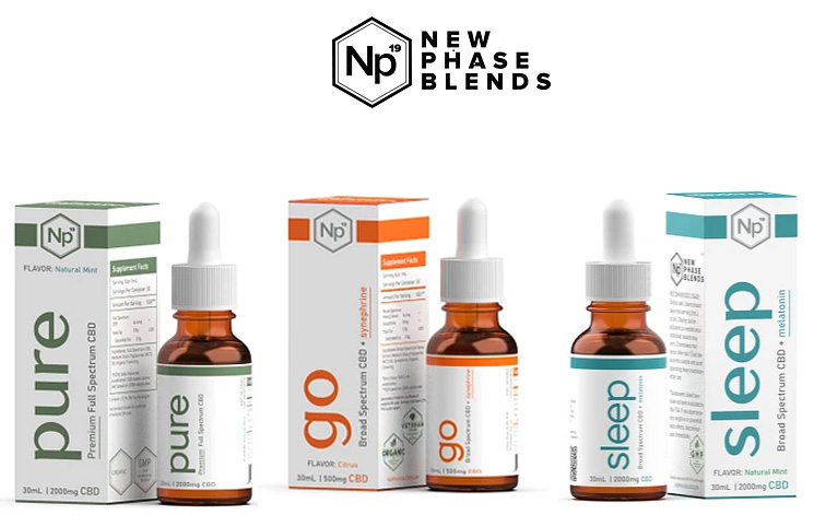 New Phase Blends CBD: Hemp Oil Drops and Topical CBD Formulas