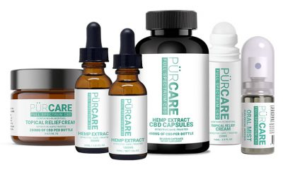 New PürCare Oral Mist CBD Sublingual Aerosol by Well Care Brands Launches