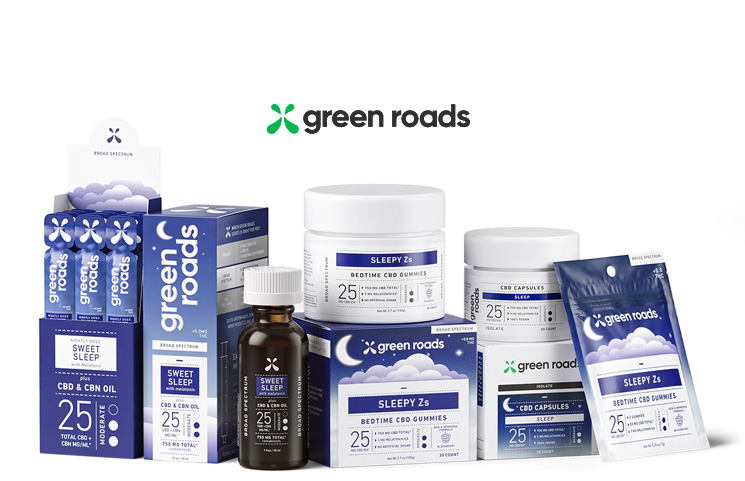 Green Roads Releases New Sleep Aid CBD Product Line with CBN