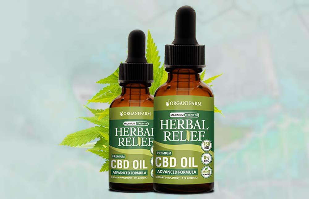 Herbal Relief CBD: Is Organifarm Herbal Relief CBD Oil Legit?