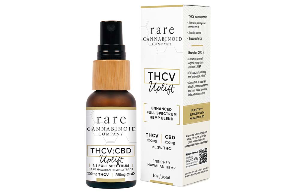 Rare Cannabinoid Company Releases New Pure THCV Products