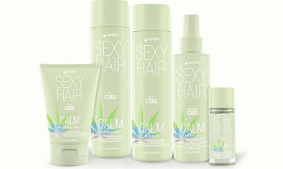 SexyHair Unveils the 5-Product Calm SexyHair CBD Hair Care Collection