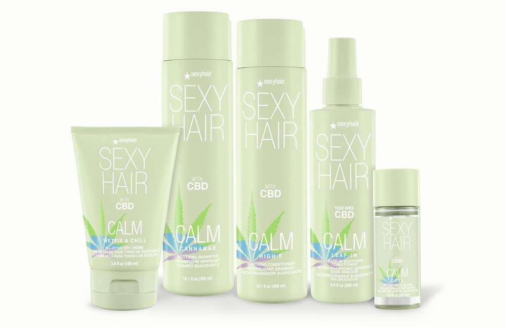 SexyHair Unveils the 5-Product Calm SexyHair CBD Hair Care Collection