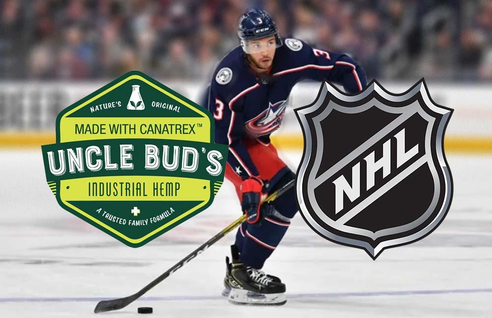 NHL Star Seth Jones Seals a Deal with Uncle Bud Hemp CBD Product Line