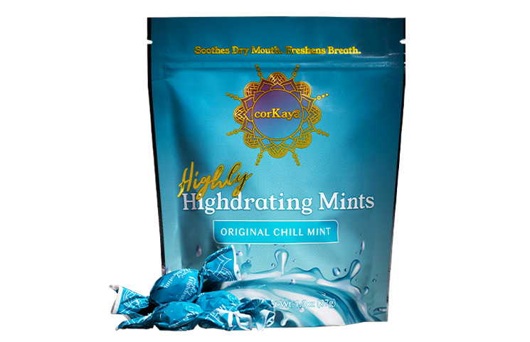 corKaya Hydrating Mints Debut for Cannabis Dry Mouth Benefits