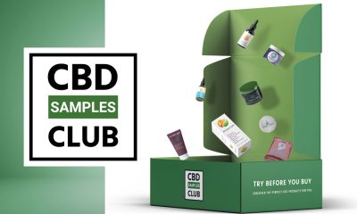 CBD Samples Club Offers CBD Subscription Box from Top Brands