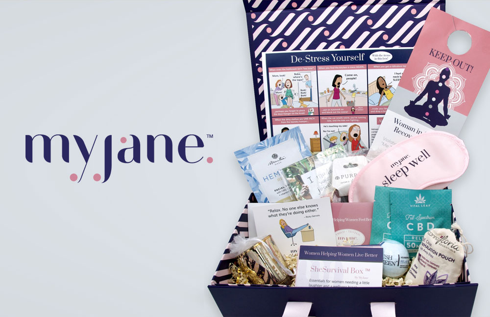 New CBD Gift Box SheSurvival Box by MyJane - Hedger Humor Edition Debuts