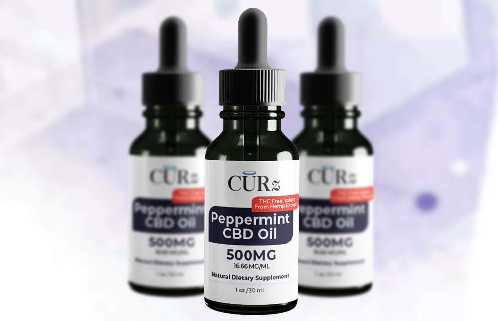 Natural CURz Hemp-Derived CBD Oil Tincture