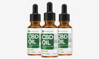 PrimeGreen CBD Oil Pure Hemp