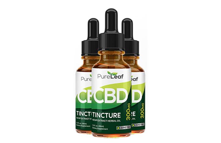 Pure Leaf CBD Oil Hemp Tincture