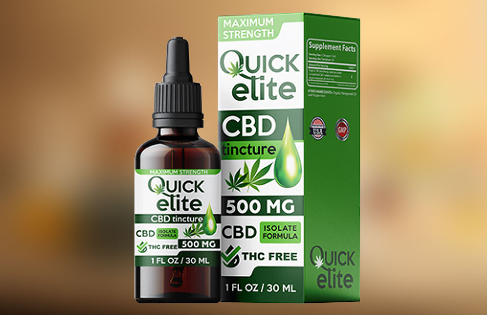 Quick Elite CBD: Is QuickElite CBD Oil Tincture Safe to Use?