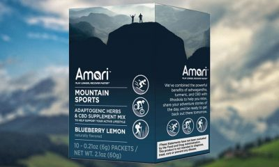 Amari Debuts Recovery, a Water-Soluble CBD Adaptogen Drink