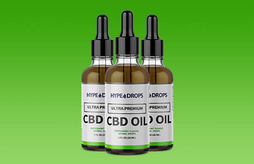 Hype Drops CBD: Safe to Use Ultra Premium Hemp CBD Oil Drops