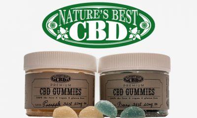 Nature's Best CBD Gummies Launch with Full-Spectrum Formula