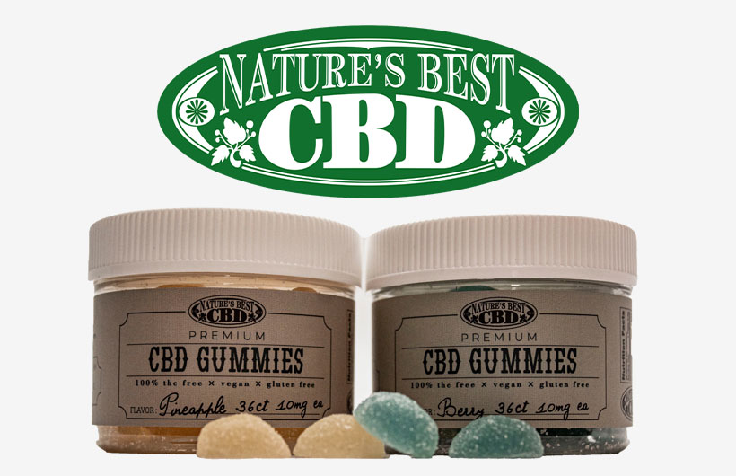 Nature's Best CBD Gummies Launch with Full-Spectrum Formula