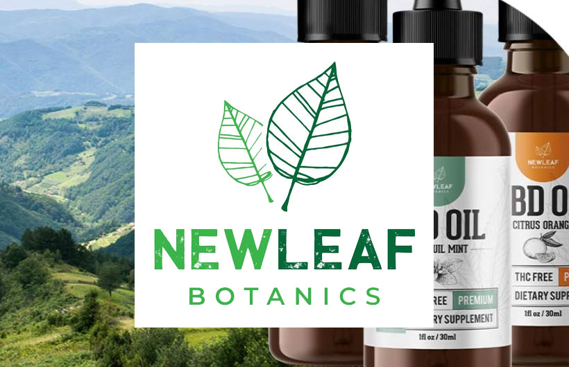 New Leaf Botanics Releases Premium CBD Oil-Infused Products