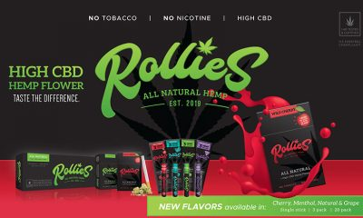 Rollies Adds New Flavors of All-Natural Hempettes Pre-Rolls