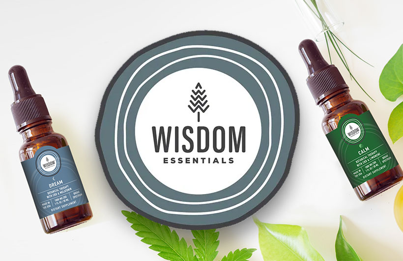 Wisdom Essentials CBD: Botanical Hemp CBD Health Formulas