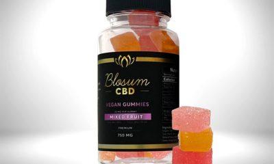BlosumCBD CBD Vegan Gummies: Organic Full Spectrum Edibles