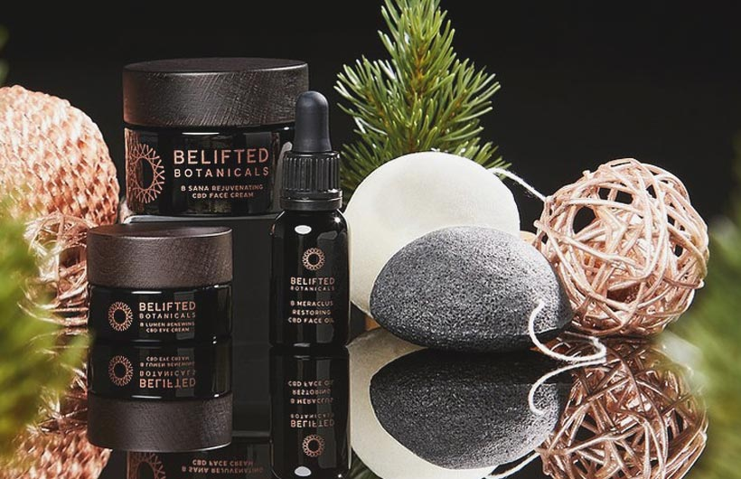 New BeLIFTED Botanicals CBD Skincare Beauty Products Launch
