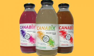 CANABIX CBD Probiotic Drinks Debut for Hydro One Beverages