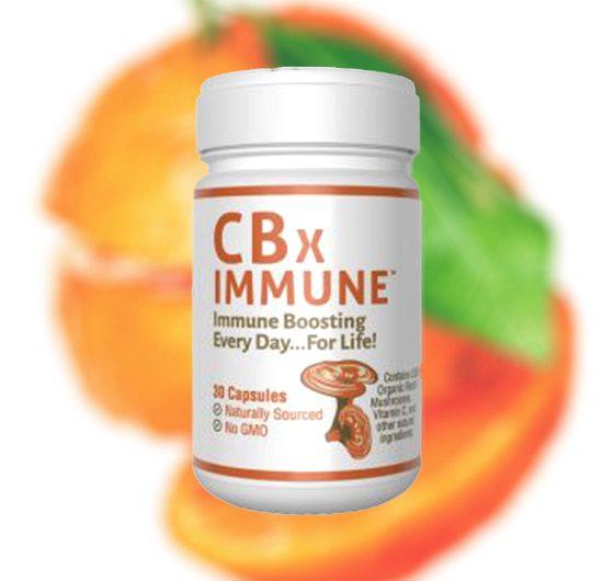CBxShield CBxImmune: Limonene-Derived CBD with Mushrooms for Immunity