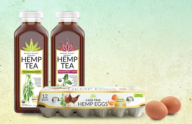New Chiques Creek Cage-Free Hemp Eggs, Grade-A Large Brown Variety Debut