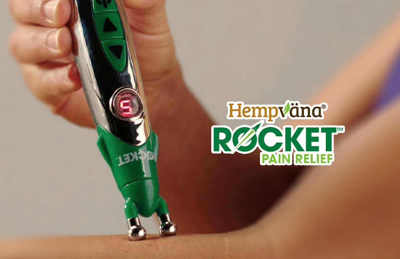 Hempvana Rocket: Electric TENS Pain Relief Pen with CBD Cream?